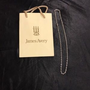 """James Avery 20"""" Rope Chain"""